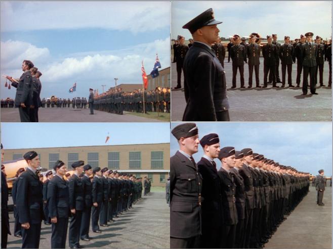 Assembled Airmen