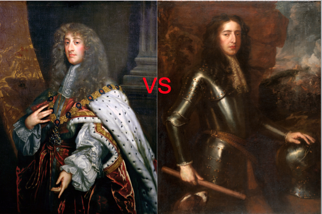 James II vs William of Orange