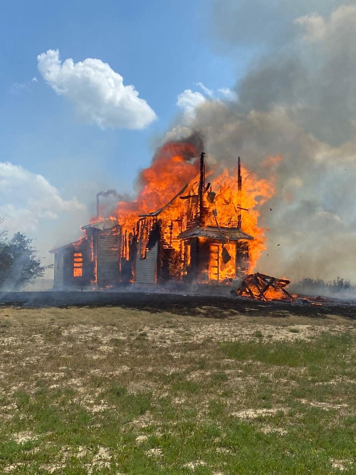 Holy Trinity-Redberry Lake Fire